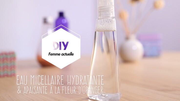 Vidéo - DIY : une eau micellaire hydratante et apaisante
