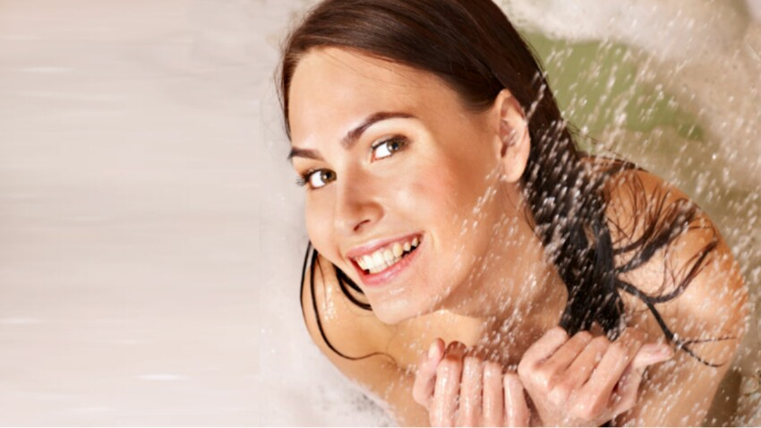 Comment gagner du temps sous la douche ?
