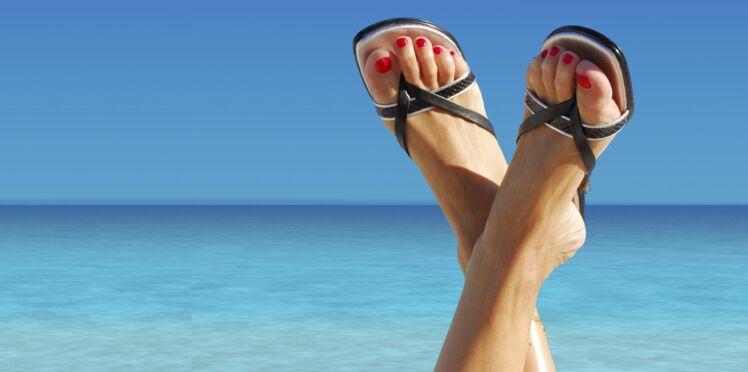 Des jolis pieds dans mes sandales