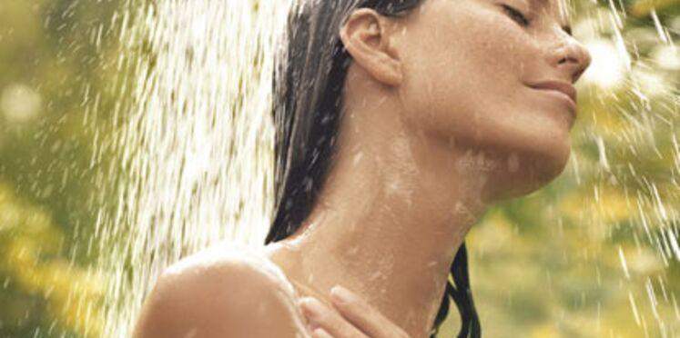 Une douche plaisir avec mon gel douche parfumé