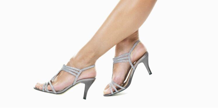 Des pieds au top dans mes sandales