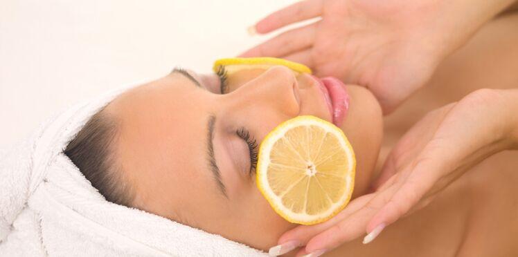 Le citron, mon atout beauté