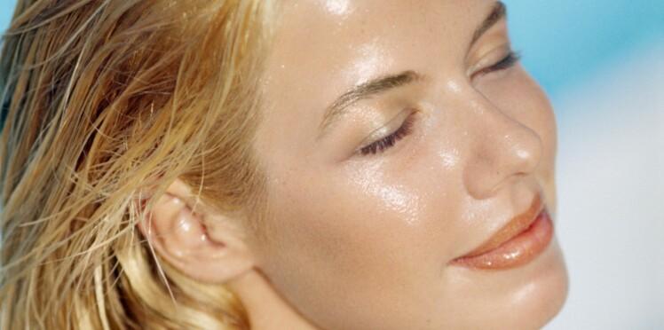 Ma peau brille tout le temps !