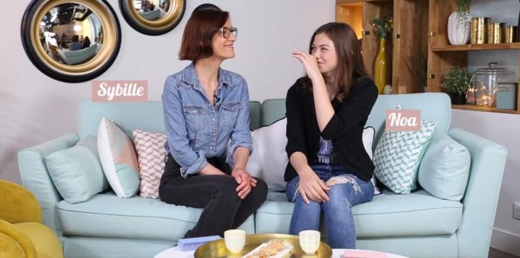 Vidéo : Telle mère, telle fille ? (ép.2) On a interrogé Sybille et Noa pour le savoir
