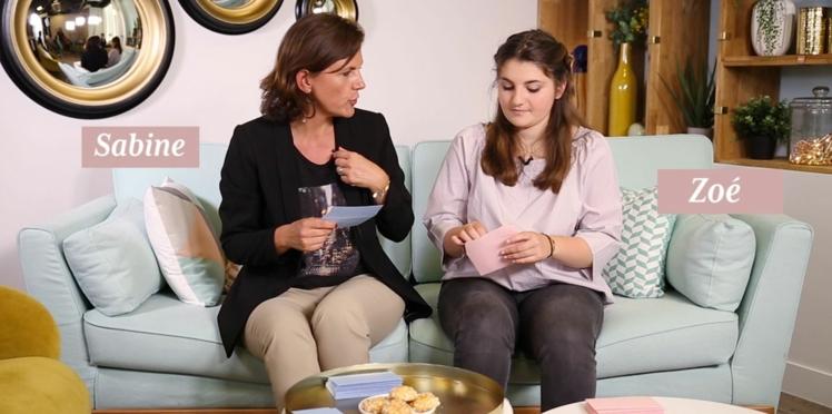 Vidéo : Telle mère, telle fille ? (ép.6) On a interrogé Zoé et Sabine pour le savoir