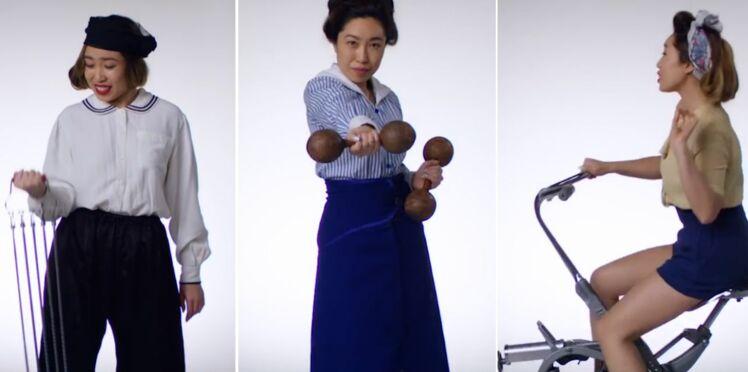 100 ans d'évolution du fitness en vidéo