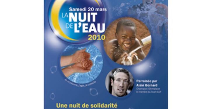 Alain Bernard, parrain de la 3ème Nuit de l'Eau le 20 mars