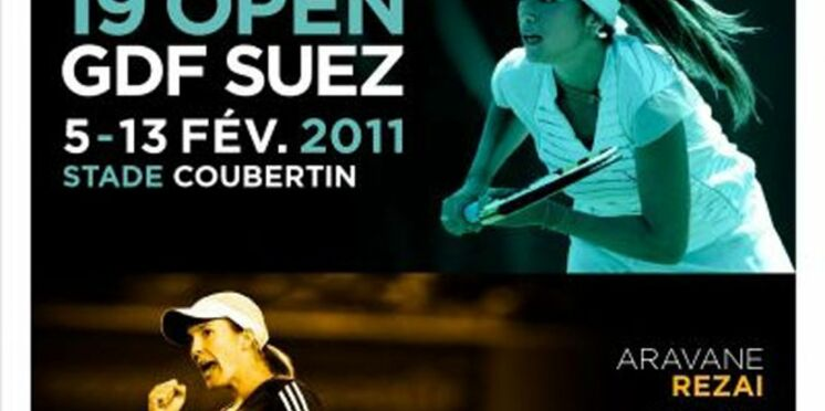 Amélie Mauresmo fait équipe pour la bonne cause à l'Open GDF-Suez