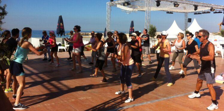 Des cours de sport les pieds dans l'eau à Marseille