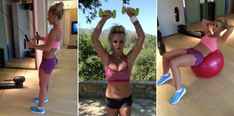 Vous rêvez d'avoir le corps de Britney Spears ? Elle révèle sa routine sportive sur Instagram !