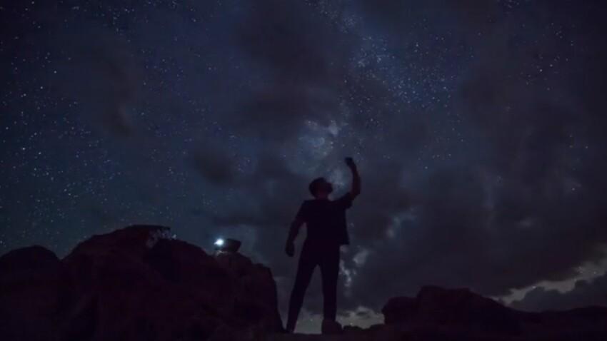 Vidéo : un (superbe) ciel étoilé pour déstresser
