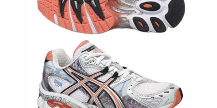 Des baskets spécialement conçues pour le Marathon de Paris