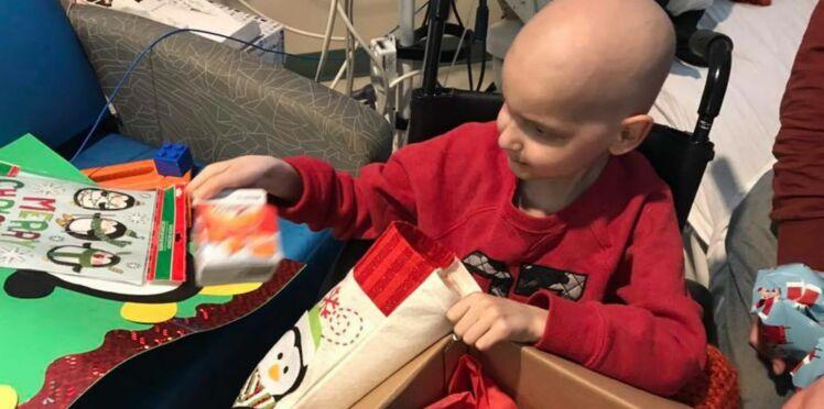 Atteint d'un cancer en phase terminale, ce petit garçon de 9 ans attend vos cartes de Noël