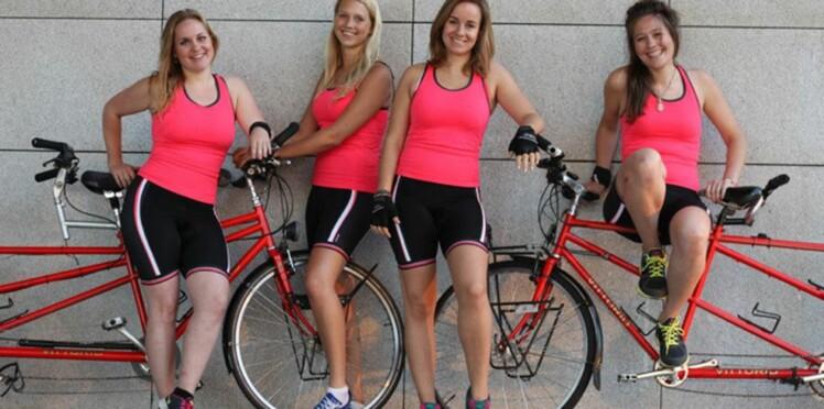 Elles parcourent 22 pays à vélo pour défendre l'égalité hommes-femmes !