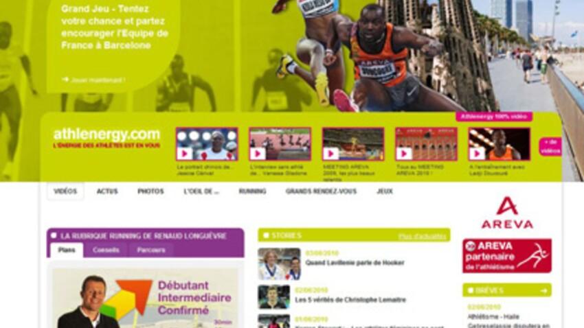 L'athlétisme et le running réunis sur un site Internet