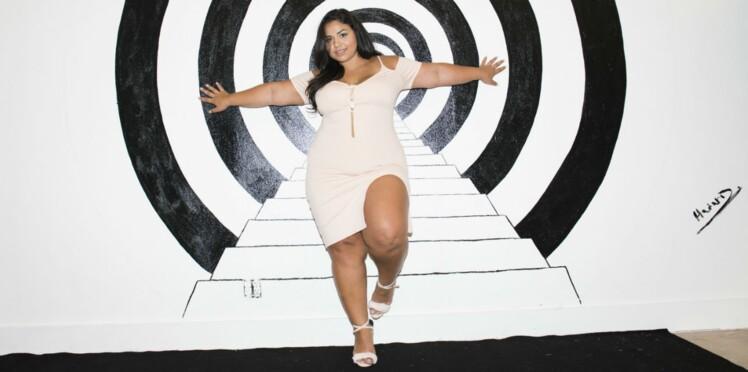 Une mannequin grande taille pose comme Kim Kardashian et invite les femmes à aimer leur corps