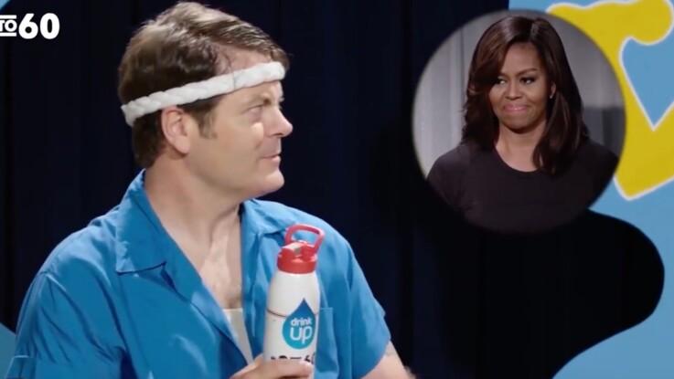 Michelle Obama se met en scène pour faire bouger les Américains