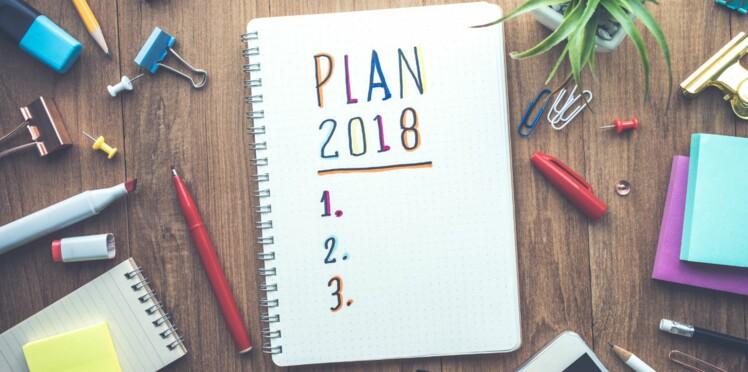 Découvrez les bonnes résolutions des Français pour 2018