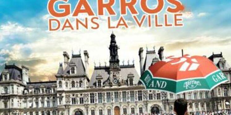 """""""Roland-Garros dans le ville"""" reprend ses quartiers à Paris"""