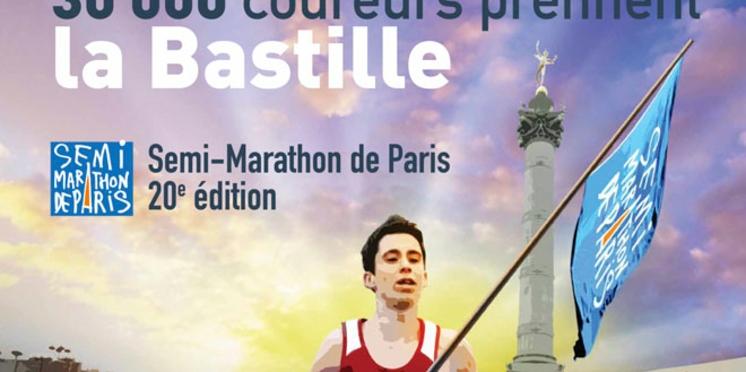 Le semi-marathon de Paris fête sa 20e édition dimanche