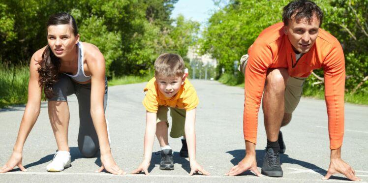 Du sport en famille