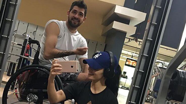 Cette star du fitness fait du sport avec son petit ami handicapé