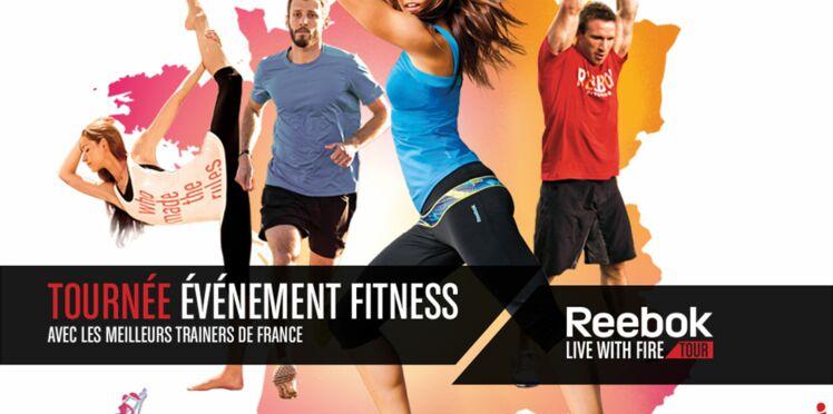Un cours de fitness gratuit avec Reebok