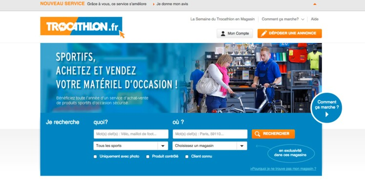 Trocathlon : un nouveau site pour acheter du matériel sportif à petit prix
