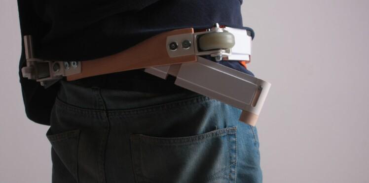 Nouveauté pratique et design : la trottinette-ceinture !