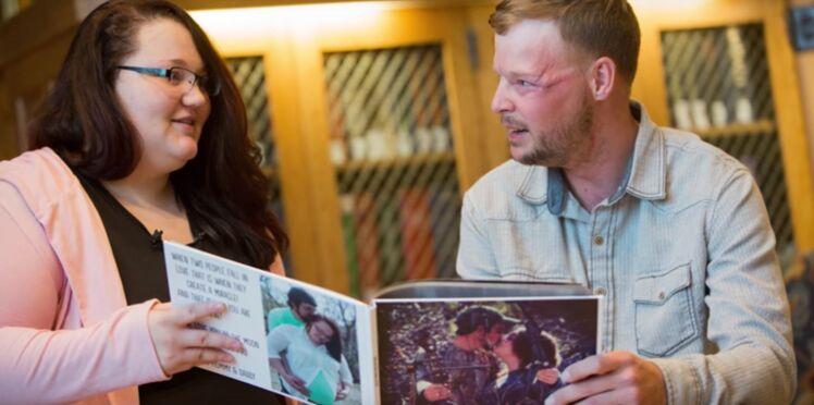 Emouvant : elle rencontre l'homme qui a bénéficié du visage de son défunt mari