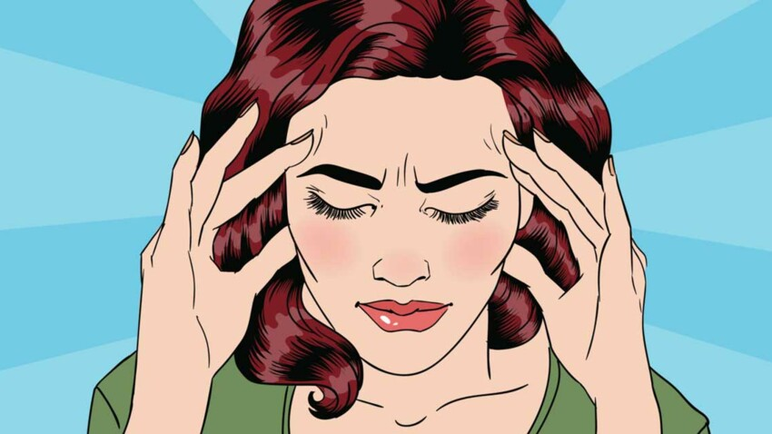 Les solutions naturelles pour soulager une migraine : Femme ...