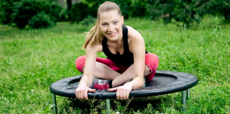 Le mini-trampoline, idéal pour sculpter son corps en s'amusant !