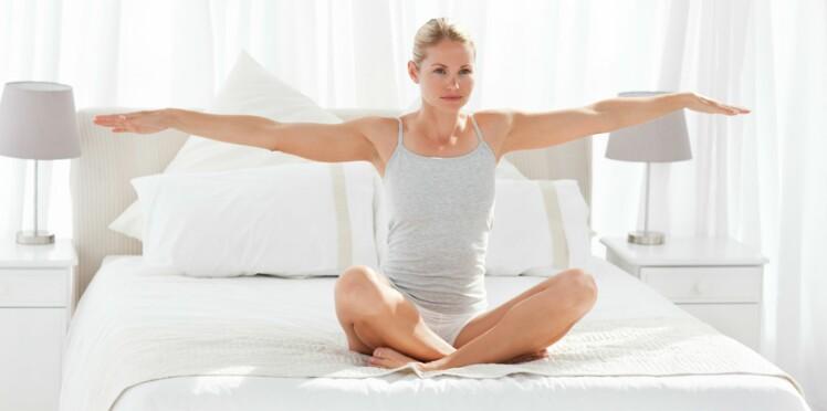 Une séance de Pilates express avant d'aller se coucher