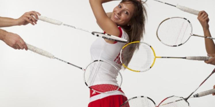 On se met au badminton