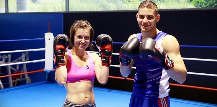 Vidéo : « Joue-la comme Julie », l'initiation à la boxe avec Mathieu Bauderlique