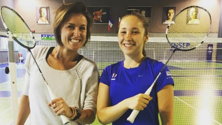 """Vidéo : """"Joue-la comme Julie"""", l'initiation au badminton avec Delphine Lansac"""