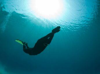La nage en apnée