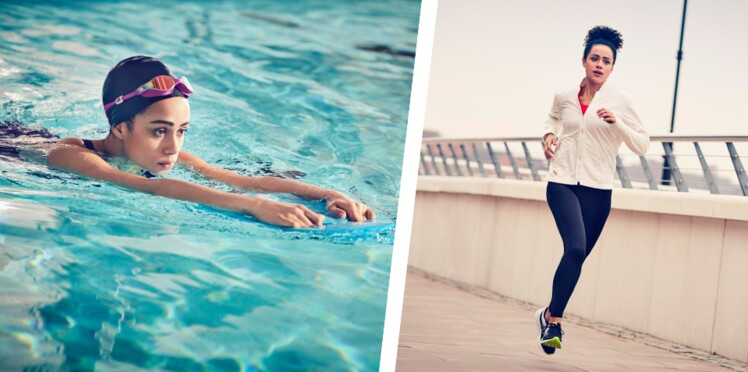 4 raisons d'associer la natation et la course à pied