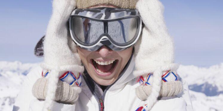 Prête pour les sports d'hiver