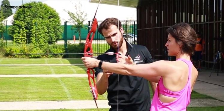 """Vidéo : """"Joue-la comme Julie"""", l'initiation au tir à l'arc avec Lucas Daniel"""