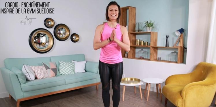 Cardio : un enchaînement inspiré de la gym suédoise