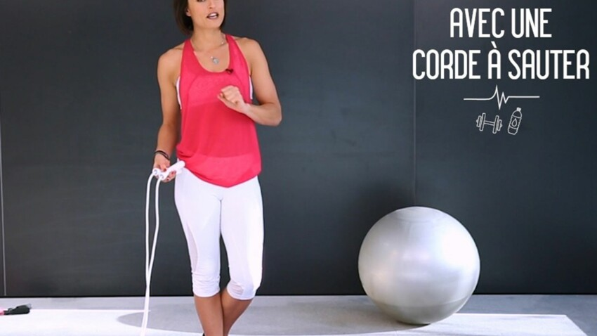 Ma séance de corde à sauter pour brûler rapidement les calories