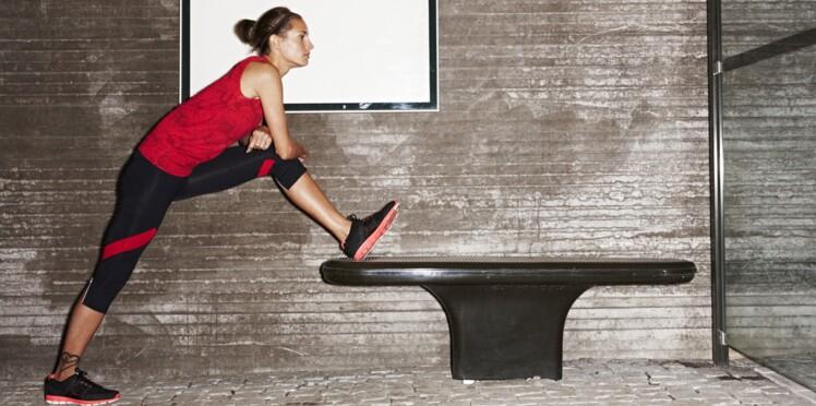 Exercices pour une séance de musculation discrète… à l'arrêt de bus