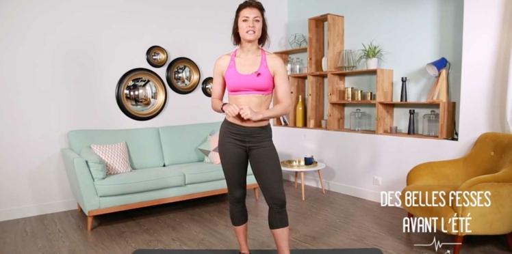 Une séance de gym pour de jolies fesses rebondies