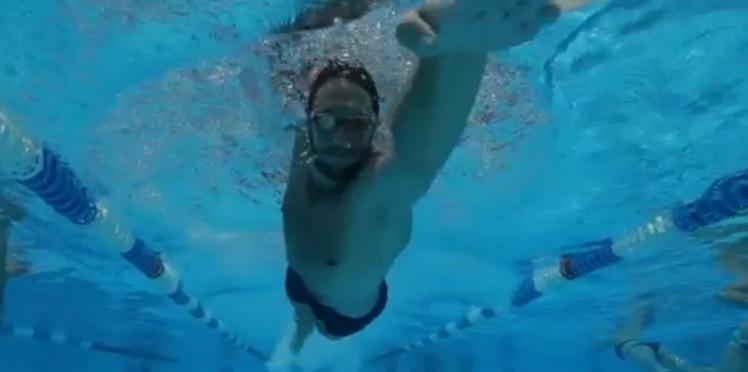 Natation : les conseils d'Alain Bernard pour bien respirer (vidéo)