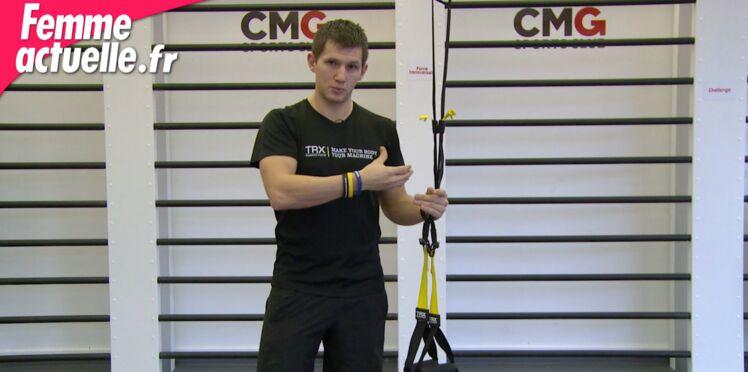 TRX – ou Suspension Training   comment se muscler grâce au poids du corps c23143eb1c6