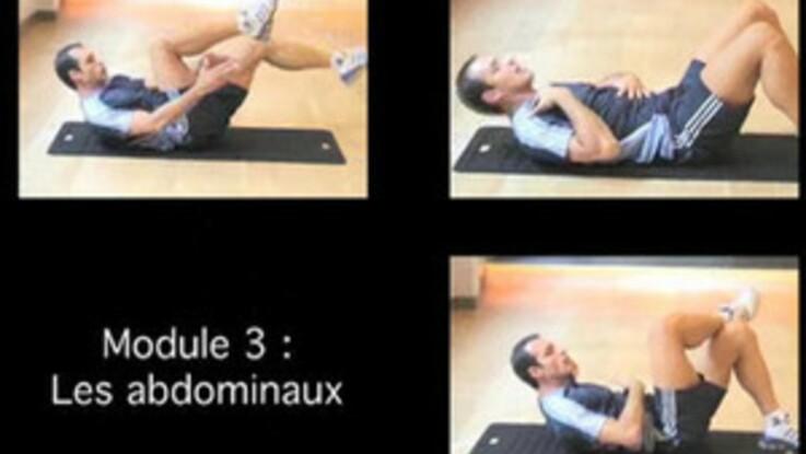 Vidéo   cours de gym abdominaux   Femme Actuelle Le MAG cf8baec7b97