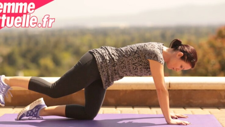 Des exercices de gym en vidéo pour des fesses au top !