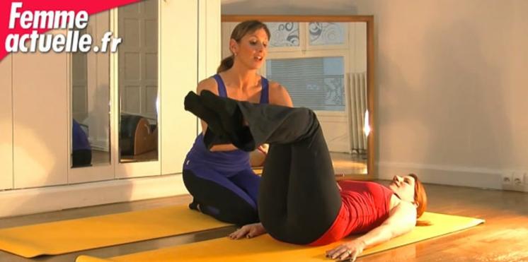 Vidéo de Pilates : des abdos en béton !