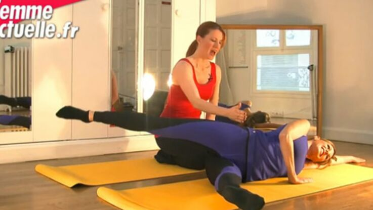 VIDEO : du Pilates anti cellulite